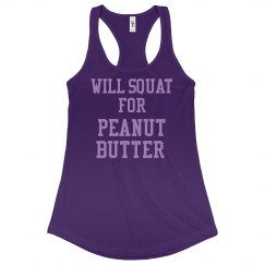 Squat for Peanut Butter