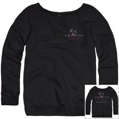 Creative Enchantment Slouchy Wideneck Sweatshirt
