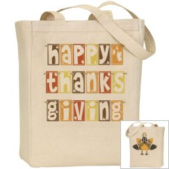 Happy Thanksgiving Tote
