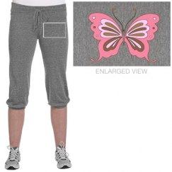 Pretty Butterfly Pants