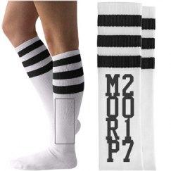 Fun Custom Morp Prom Socks
