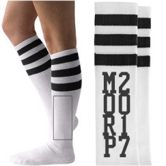 Fun Custom Morp Prom Socks