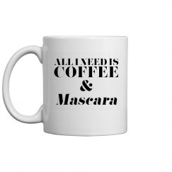 Coffee & Mascara Mug