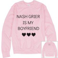 Nash is my BOYFRIEND