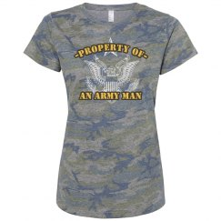 Property Of An Army Man