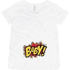 Comic Book Baby Maternity