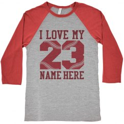 Trendy Baseball Girlfriend Raglan Shirts to Customize