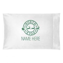 Custom Kids Christmas Pillowcase