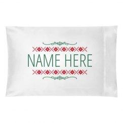 Custom Name Christmas Pillowcases