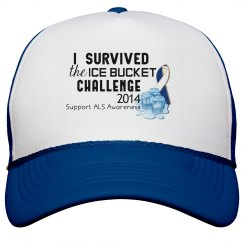 Ice Bucket Challenge Cap