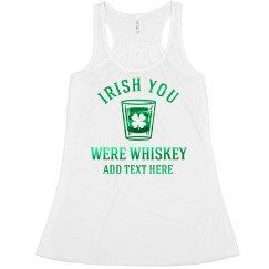 Green Metallic Irish Whiskey