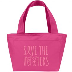 BREAST CANCER LUNCH TOTE