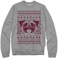 Pug Ugly Christmas Sweater