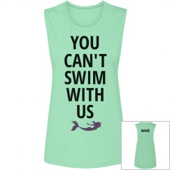 You Can't Swim Mermaid BFF