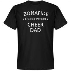 Loud & proud cheer dad