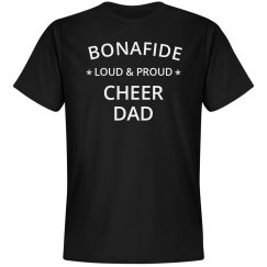 Loud & proud cheer dad
