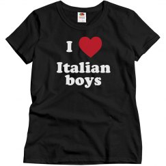 I love Italian Boys