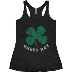 Green day tank top.