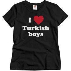 I love Turkish boys