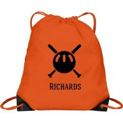 Baseball Drawstring Bags