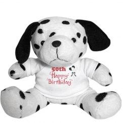 50th Birthday Bear