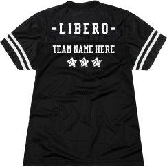 Custom Team Libero Volleyball Slub