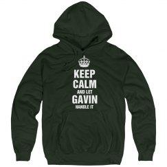 Let Gavin handle it