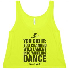 Whirling Dance Psalm 30