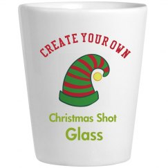 Create Your Personalized Christmas Shot Glass