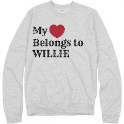 Heart belongs to willie