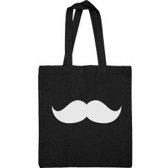 Mustache Sling Bag