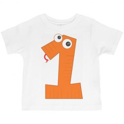 Toddlers Ist BIrthday Tee