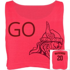 Root for you favorite FOOTBALL TEAM with this crop