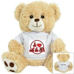 Love The 80's Plush Tiger
