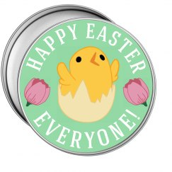 Happy Easter Tin
