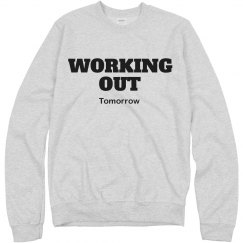 Working Out Tomorrow