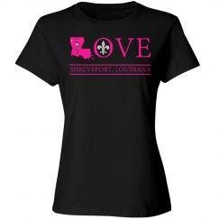Love Home Shreveport Louisiana, Pink