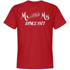 Mr & Mrs since 1977