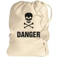 Danger Laundry Bag