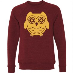 Owl Graphic Sweatshirt