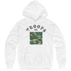 White T-VII Hoodie
