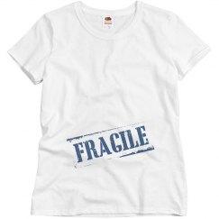 Blue Maternity T-Shirt