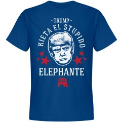 Anti-Trump Stupido Elephante
