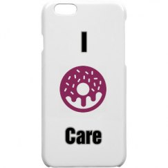 I don't care phone case