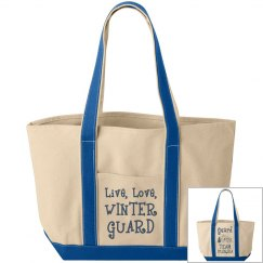 Live Love Winter Guard / Beach Snowman - Team Florida
