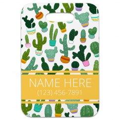 Custom Succulent Print Travel Gift