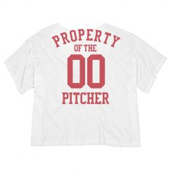Pitcher's Girlfriend Baseball