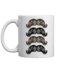 Mug of Mustaches