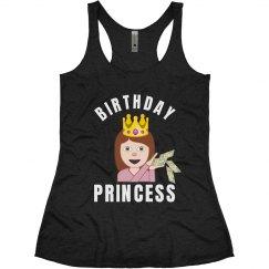 Birthday Emoji Princess