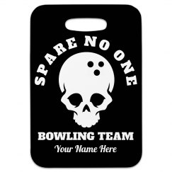 Your Team Bowling Bag Tag